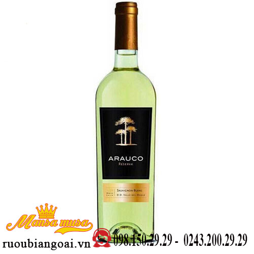 Vang Chile Arauco Reserva Sauvignon Blanc