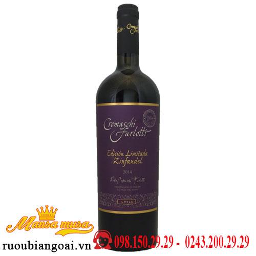 Vang Chile Cremaschi Furlotti Limited Edition Zinfandel