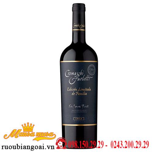 Vang Chile Cremaschi Furlotti Limited Edition