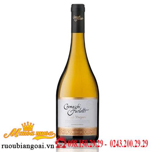 Vang Chile Cremaschi Furlotti Single Vineyard Chardonnay