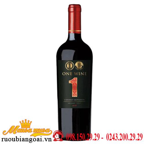 Vang Chile One Wine Cabernet Sauvignon