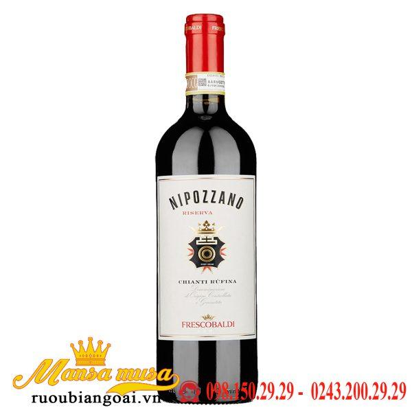 Vang Ý Nipozzano Riserva - 375 ml