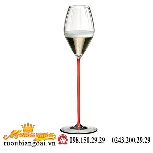 Ly Rượu Vang High Performance Champagne Glass Red