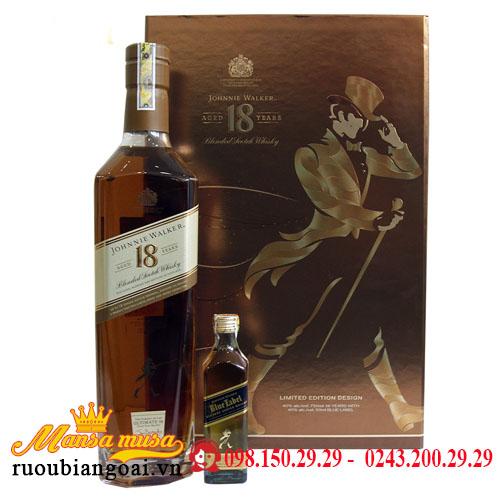 Hộp Quà Rượu Johnnie Walker 18