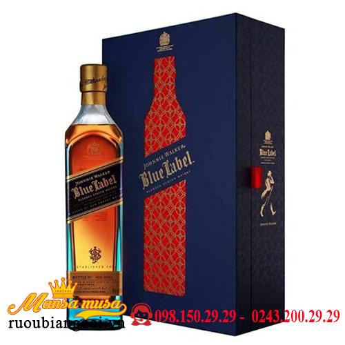 Hộp Quà Rượu Johnnie Walker Blue Label 2021