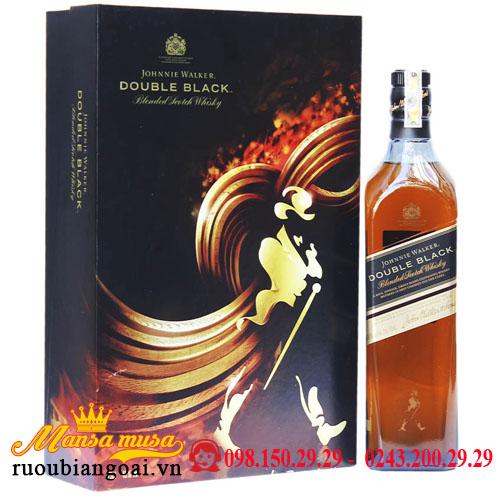 Hộp Quà Rượu Johnnie Walker Double Black