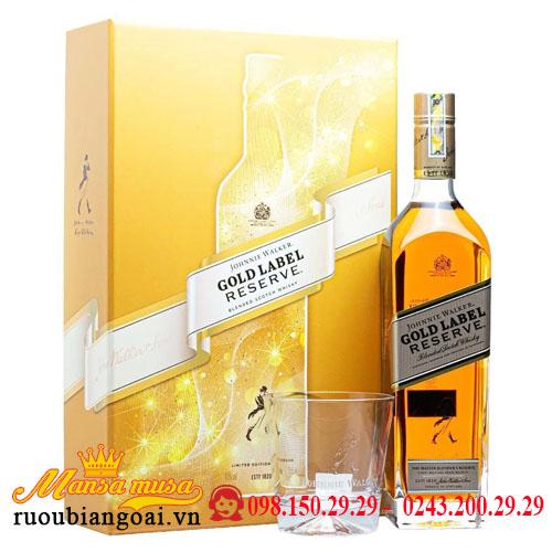 Hộp Quà Rượu Johnnie Walker Gold Label