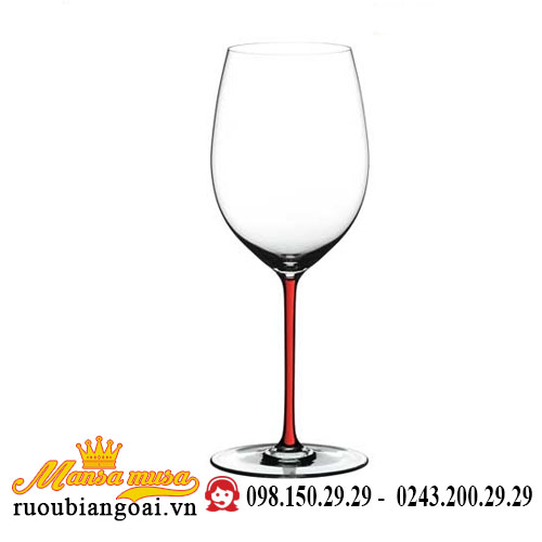 Ly Rượu Vang Riedel Fatto A Mano Cabernet Merlot Red Rq