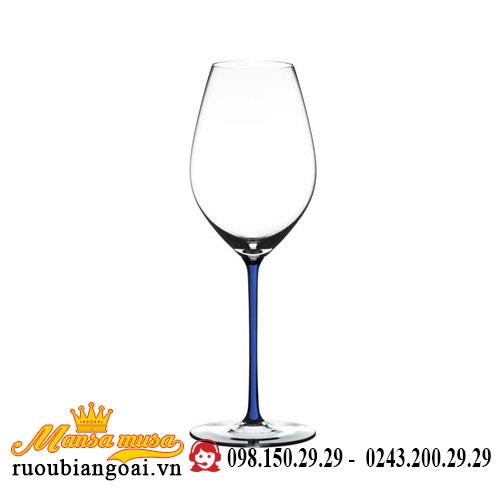 Ly Rượu Vang Riedel Fatto A Mano Champagne Wine Glass Darkblue Rq