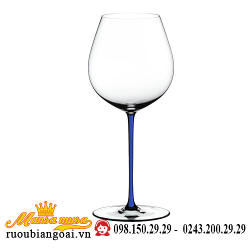 Ly Rượu Vang Riedel Fatto A Mano Pinot Noir Darkblue Rq