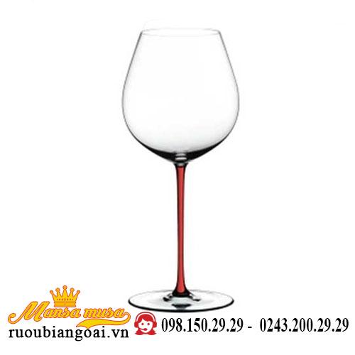 Ly Rượu Vang Riedel Fatto A Mano Pinot Noir Red Rq