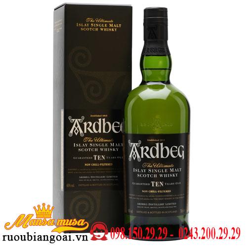 Rượu Ardbeg 10 Năm