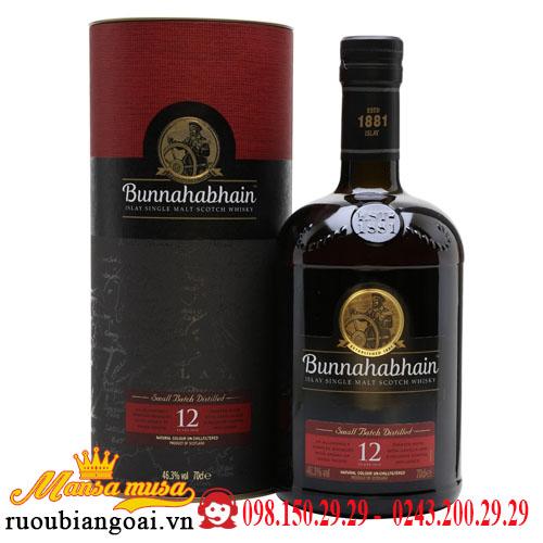 Rượu Bunnahabhain 12 Năm
