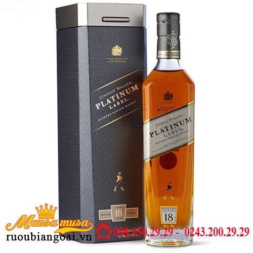 Rượu Johnnie Walker 18 Platinum Label