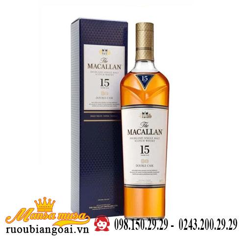 Rượu Macallan 15 Năm – Double Cask
