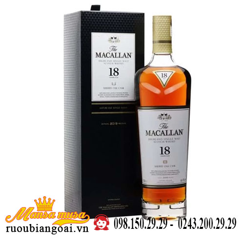 Rượu Macallan 18 Năm 2019