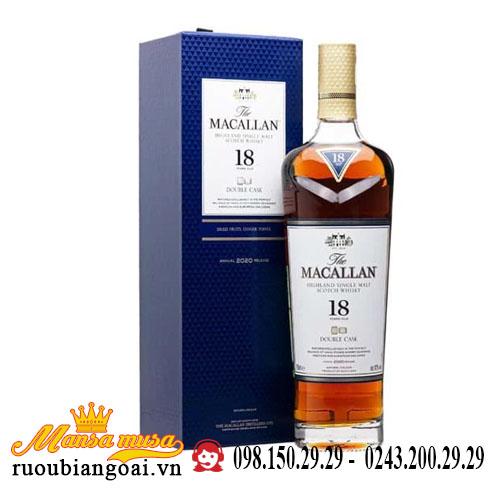 Rượu Macallan 18 Năm Double Cask