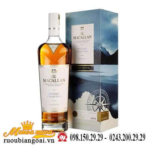 Rượu Macallan Boutique Collection 2020