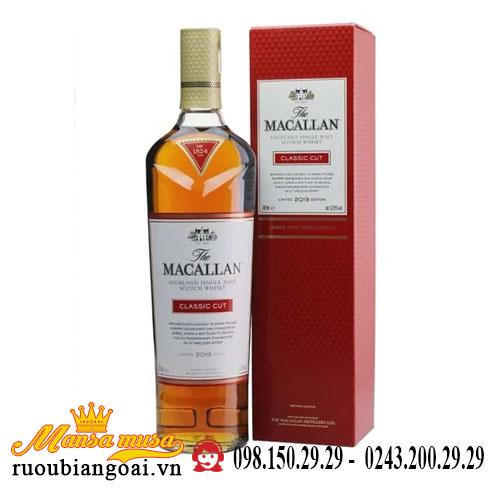 Rượu Macallan Classic Cut 2019