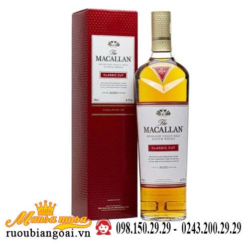 Rượu Macallan Classic Cut 2020
