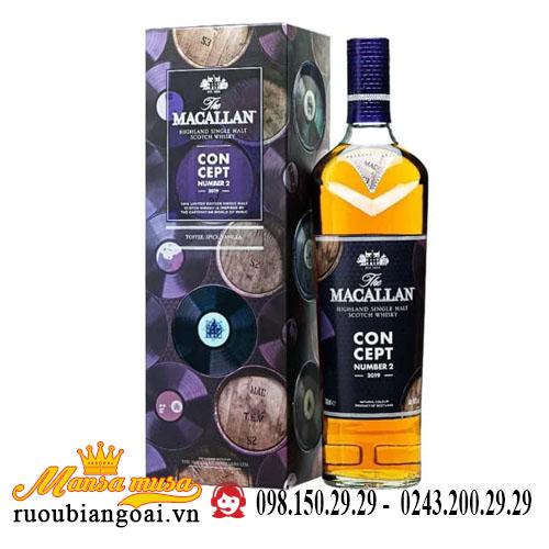 Rượu Macallan Concept No. 2