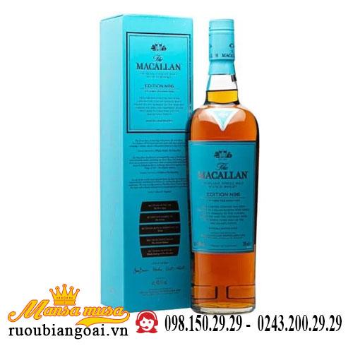 Rượu Macallan Edition No. 6