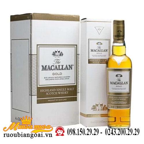 Rượu Macallan Gold 350ml