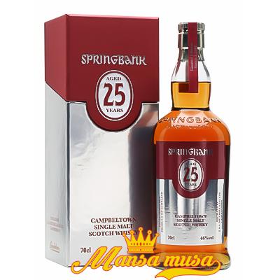 Rượu Springbank 25 năm