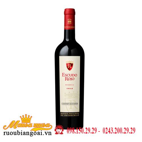 Vang Chile Escudo Rojo Reserva Cabernet Sauvignon