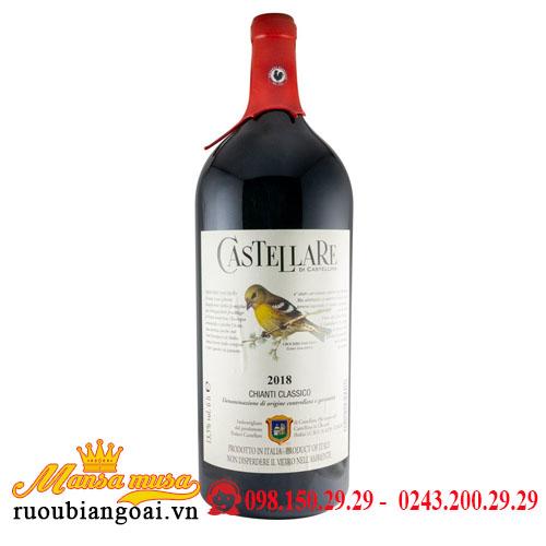 Rượu Vang Đỏ Castellare Di Castellina Chianti Classico 6L 2018