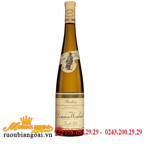 Rượu Vang Domaine Weinbach Cuvée Théo Riesling