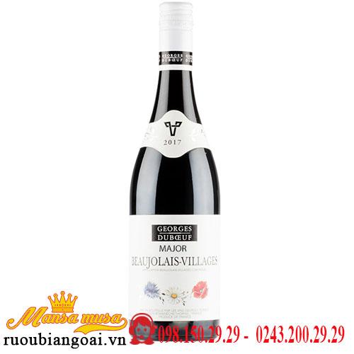Rượu Vang Georges Duboeuf Major Beaujolais Villages
