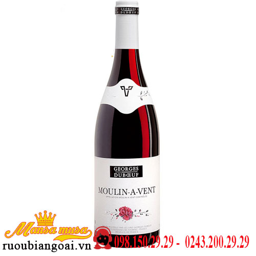Rượu Vang Georges Duboeuf Moulin A Vent