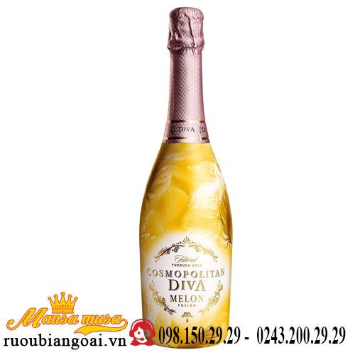 Rượu Vang Hoa Quả Cosmopolitan Diva Melon Fusion
