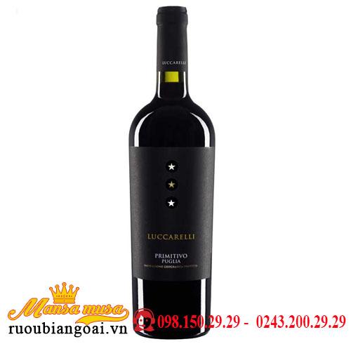 Rượu Vang Luccarelli Primitivo