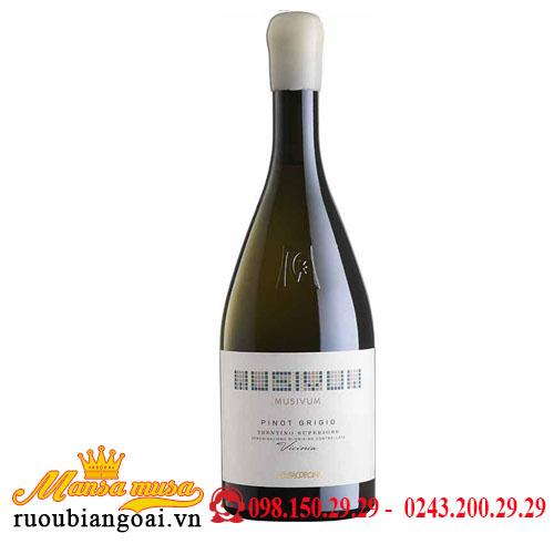 Rượu Vang Mezzacorona Musivum Pinot Grigio