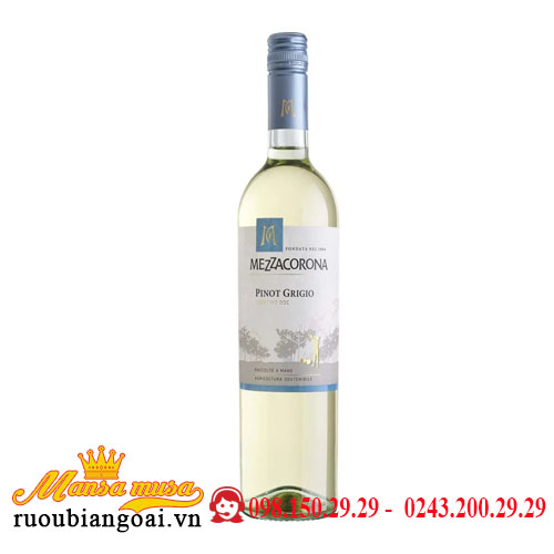 Rượu vang Mezzacorona Pinot Grigio