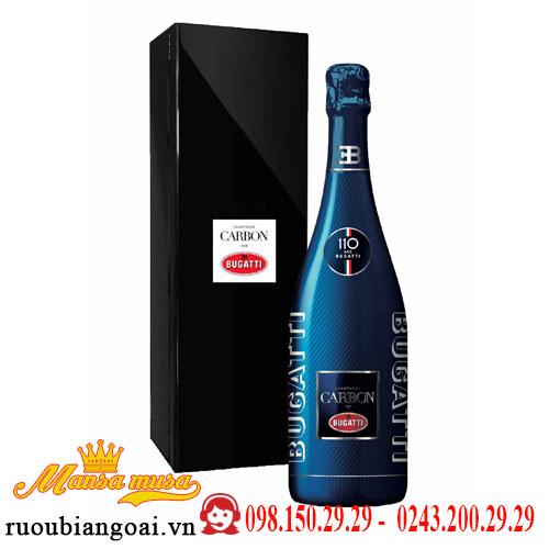 Rượu Vang Nổ Carbon Bugatti Champagne Limited Edition