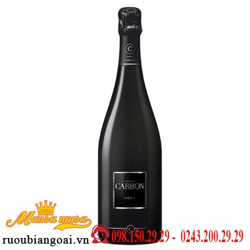 Rượu Vang Nổ Carbon Champagne Brut (with Luxury Gift Box)