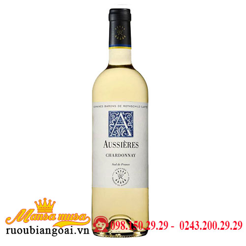 Rượu Vang Pháp DBR (Lafite) Aussieres Chardonnay