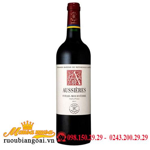 Rượu Vang Pháp DBR (Lafite) Aussieres Rouge