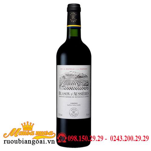 Rượu Vang Pháp DBR (Lafite) Blason d'Aussieres
