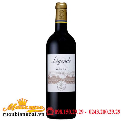 Rượu Vang Pháp DBR (Lafite) Legendé Medoc