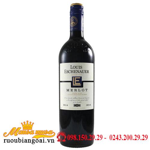 Rượu Vang Pháp VDP Louis Eschenauer đỏ