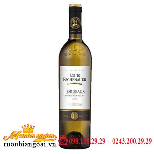 Rượu Vang Pháp VDP Louis Eschenauer trắng