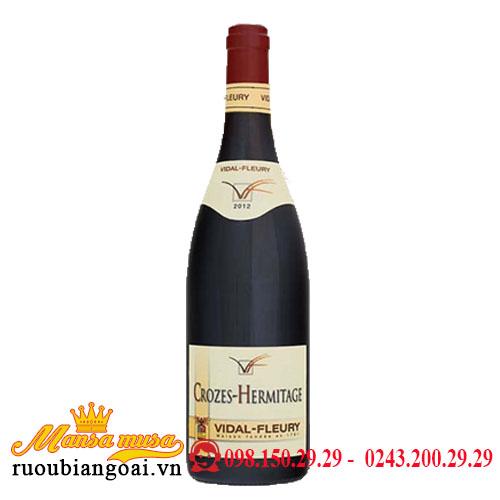 Rượu Vang Pháp Vidal Fleury Hermitage 2012