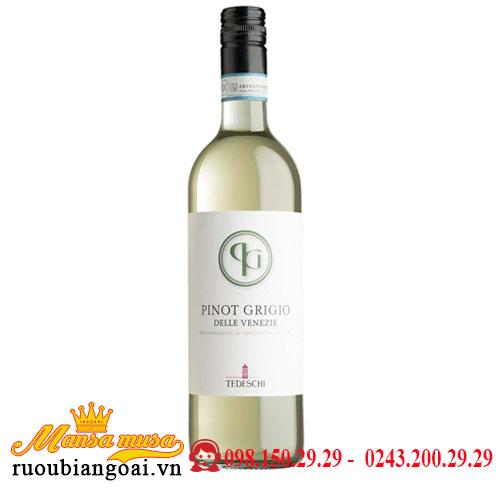 Rượu Vang Pinot Grigio Delle Venezie Tedeschi