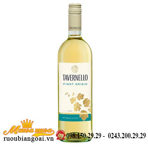 Rượu Vang Tavernello Pinot Grigio Delle Venezie