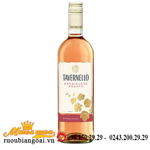 Rượu Vang Tavernello Sangiovese Rosato