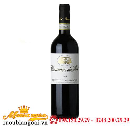 Rượu Vang Ý Casanova Di Neri Brunello Di Montalcino 2015